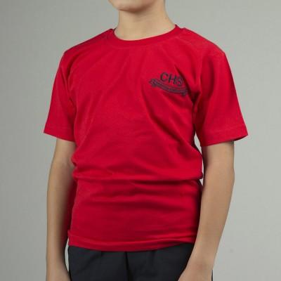 CHS Red Short Sleeve T-shirt